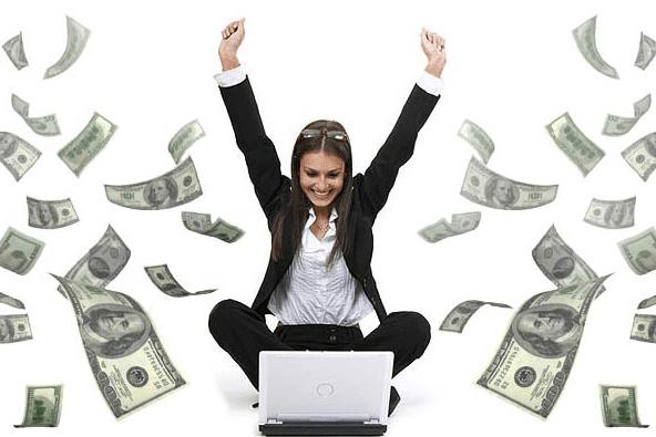 5 moyens de devenir riche sur internet